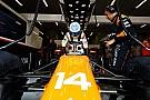 """【F1】ホンダ、リタイアしたアロンソのエンジンに""""問題""""を発見できず"""
