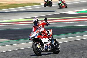 MotoGP Gara Dovizioso e la Ducati concedono il bis: anche Barcellona è Rossa!