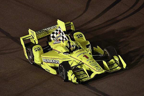 IndyCar in Phoenix: Startcrash mit 5 Autos und 1. Ovalsieg für Pagenaud