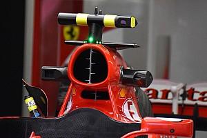 Ferrari: sei tubi di pitot nell'airbox della SF70H di Raikkonen