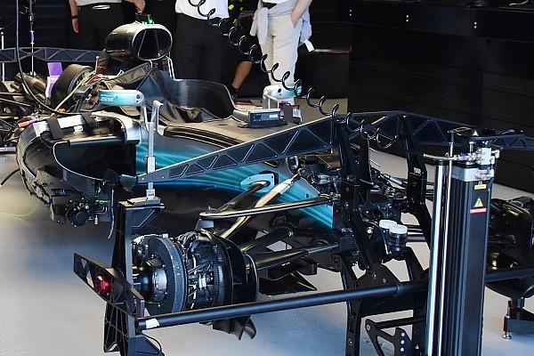 Формула 1 Самое интересное Гран При Австралии: шпионские фото технических новинок