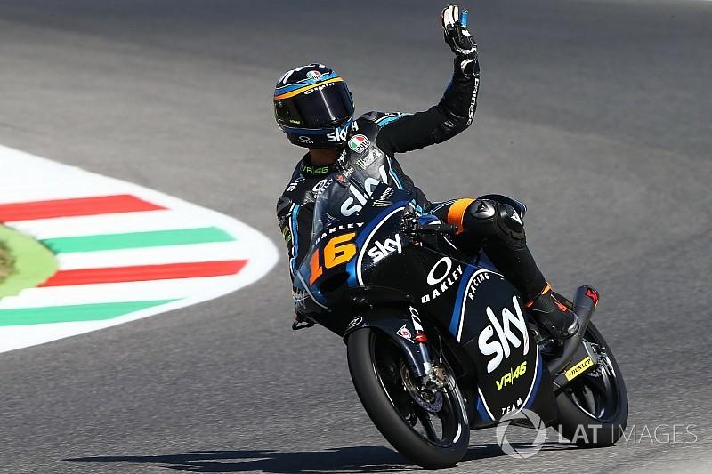 Moto3 Italia: Migno kalahkan Di Giannantonio dalam duel menegangkan
