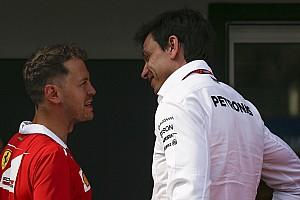 Formula 1 Son dakika Vettel, Mercedes'in önemli isimleriyle kayak turnuvasını izlemiş