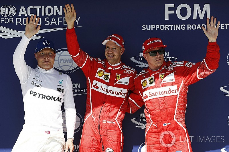 Macaristan GP: Vettel pole pozisyonunda, Ferrari ilk çizgide!