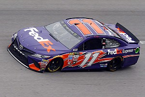 NASCAR Cup Race report Denny Hamlin wins second stage at Talladega