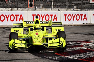 IndyCar Reporte de prácticas Long Beach: Pagenaud manda en el warm-up