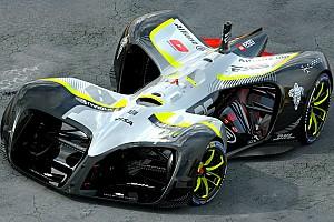 Roborace Новость В Барселоне показали машины RoboRace