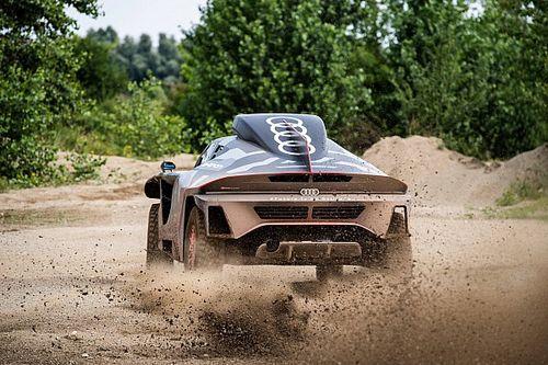 Fotos: así es el impresionante Audi RS Q e-tron para el Dakar 2021