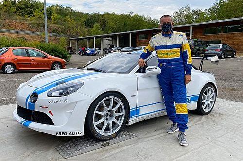 La nuova Alpine A110 RGT al debutto ERC con Zelindo Melegari