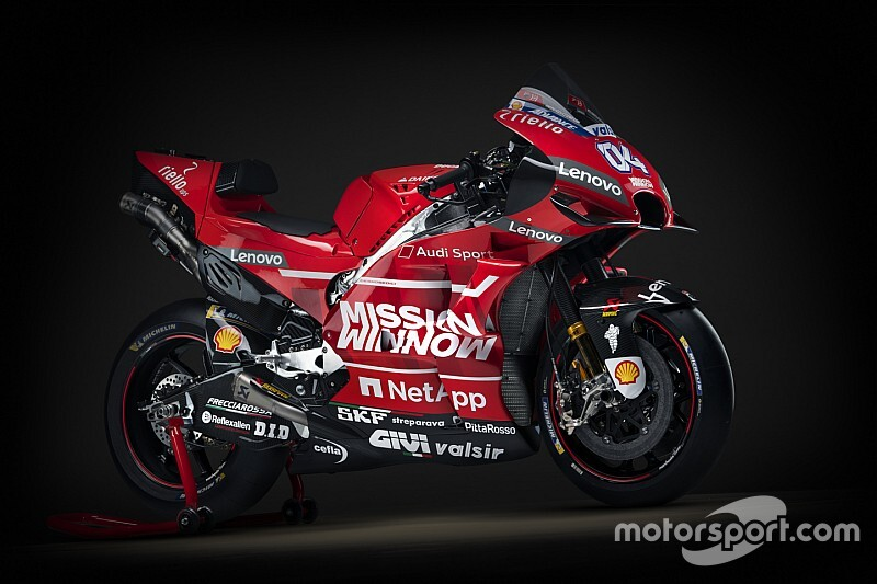Ducati представила ливрею для сезона-2019. Она похожа на Ferrari в Ф1