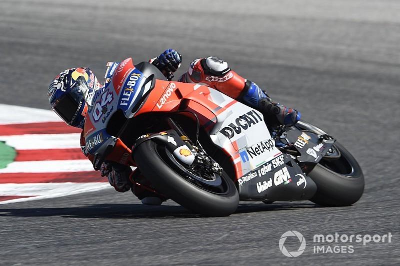 Четыре гонщика на Ducati стали быстрейшими в первой тренировке Гран При Арагона