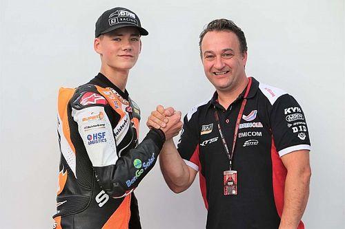 Van den Goorbergh maakt Moto2-debuut bij RW Racing