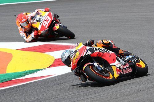 """Pol Espargaró: """"Ya sabía que Marc iría muy rápido, tiene la Honda muy por la mano"""""""