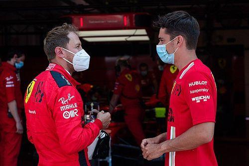 """Vettel acredita que ele e Leclerc são maduros para superar incidente, mas desabafa: """"Foi um final de semana ruim para ambos"""""""