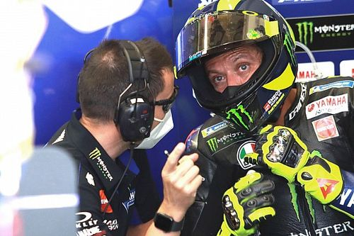 The set-up 'fight' reflecting a change in Rossi's standing