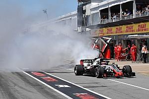 Формула 1 Новость Штайнер: В пелотоне 20 машин, но тот сурок решил выбрать именно нашу