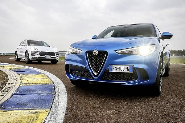 Auto Actualités Alfa Romeo Stelvio Quadrifoglio vs. Porsche Macan Turbo