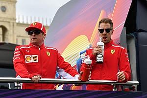 Vettel, henüz kararını vermeyen Raikkonen'in Ferrari'de kalmasını istiyor
