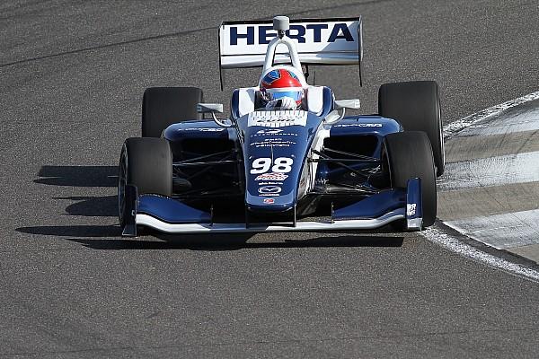 Indy Lights Race report Indy GP Indy Lights: Herta wins despite Turn 1 incident