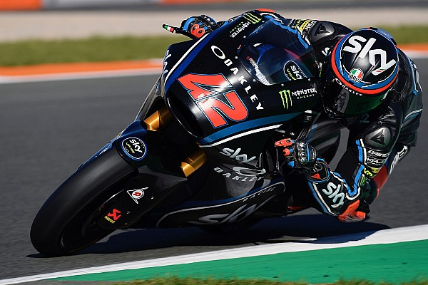 Le basse temperature rovinano il test dello Sky Racing Team VR46 a Valencia
