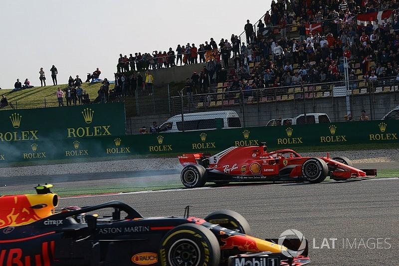 """Marko dice que Verstappen """"regaló"""" la victoria al chocar a Vettel"""