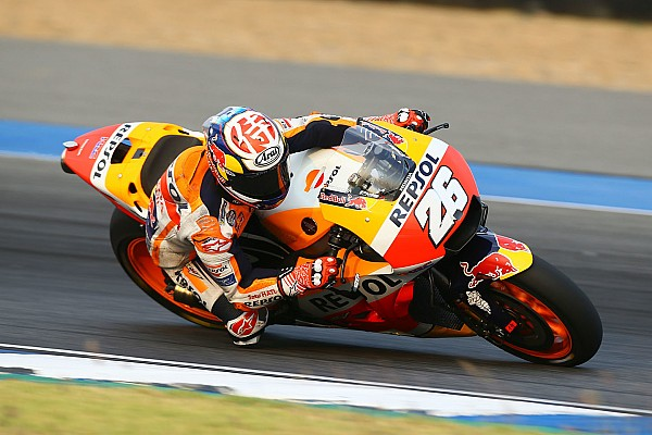 MotoGP Testing report Pedrosa pips Zarco to end Thailand test on top