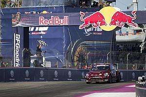 Global Rallycross Race report Scott Speed wins first leg of GRC Los Angeles