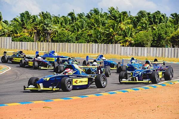 Indian Open Wheel Coimbatore III Euro JK: Reddy races to maiden win