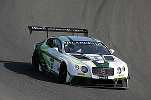 Blancpain Sprint Race report Bentley Motorsport finishes in third place at Brands Hatch