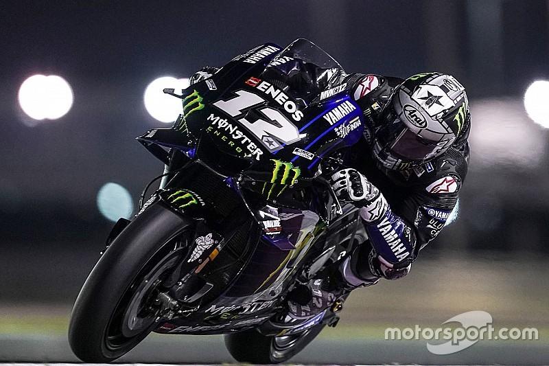 Виньялес выиграл, Росси слился, Лоренсо снова упал: квалификация MotoGP в Катаре