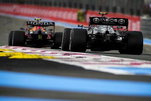 Анализ: как Перес разрушил тактические планы Mercedes во Франции