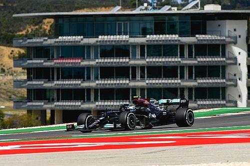Bottas manda en la FP1 de Portugal delante de Verstappen y Pérez