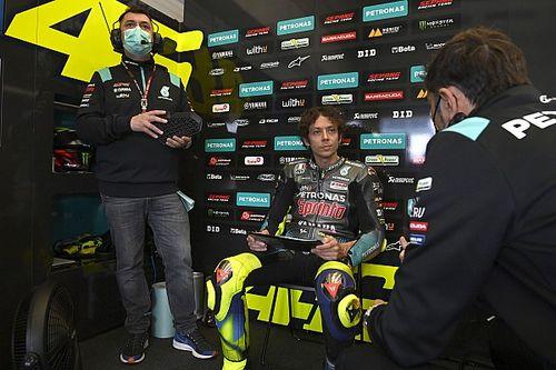 """Rossi retrouve de """"timides sourires"""" après un bon test"""
