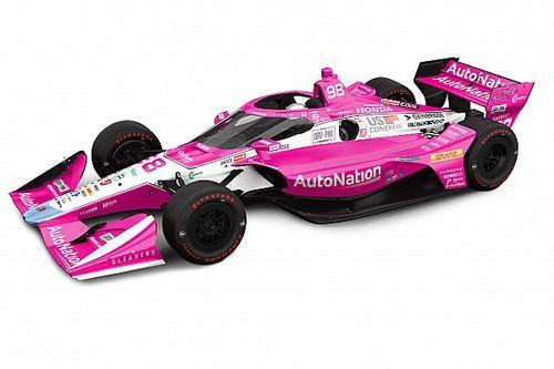 """Andretti, Harvest GP'de """"Drive Pink"""" renk düzenini kullanacak"""