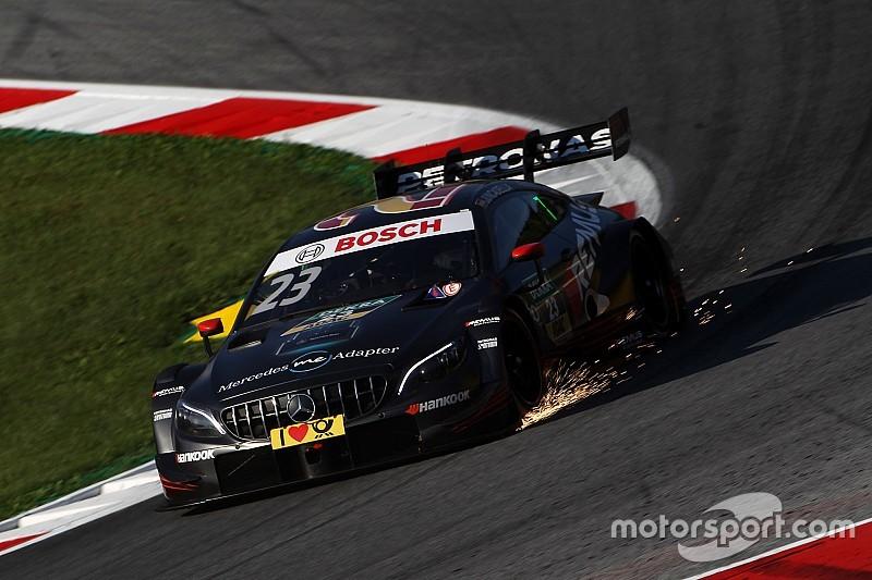 DTM у Шпільберзі: Хункаделья здобув поул попри зупинку кваліфікації