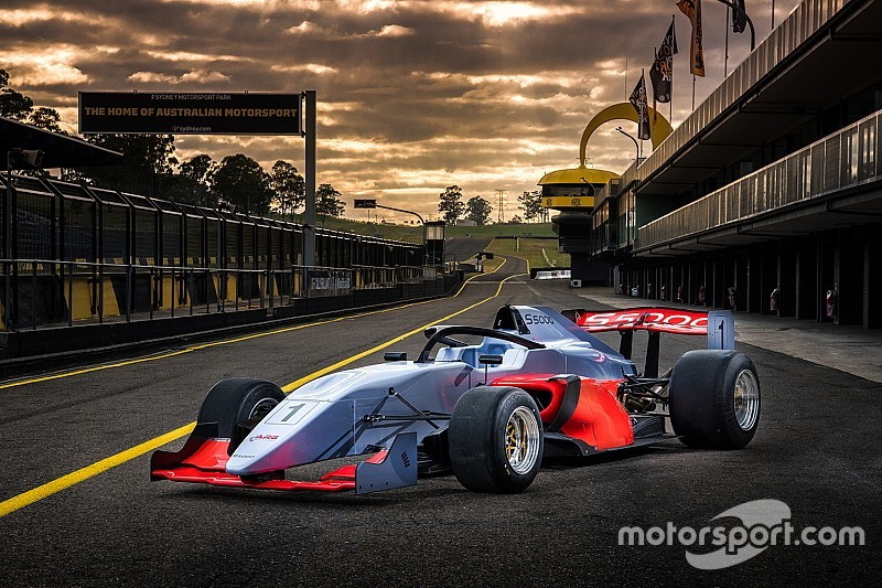 S5000 unveils new car, preliminary 2019 schedule