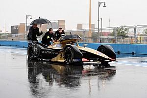 Formel E Riad 2018: Regen in der Wüste sorgt für Absage der Trainings