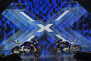 Lo Sky Racing Team VR46 presenta alla finale di X Factor la livrea 2019