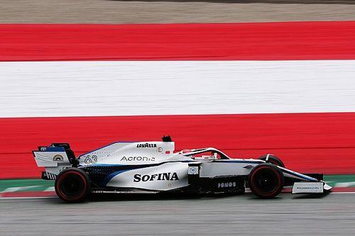 Williams pondrá a Aitken en pista en la FP1 del GP de Estiria