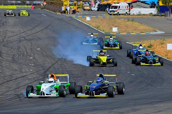 Indian Open Wheel Coimbatore III Euro JK: Reddy takes third win of the weekend