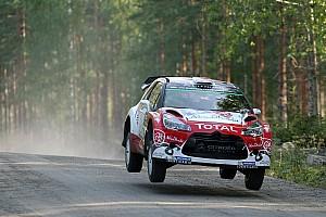 WRC Leg report Finland WRC: Meeke extends lead as battle for third tightens