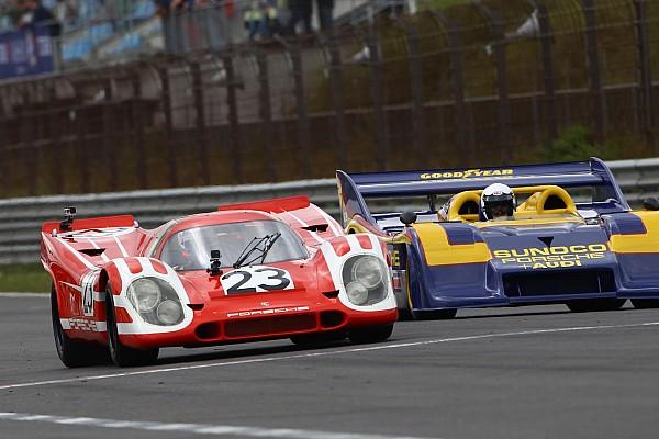 Retro Nieuws Le Mans-winnende Porsches in actie tijdens Historische GP Zandvoort