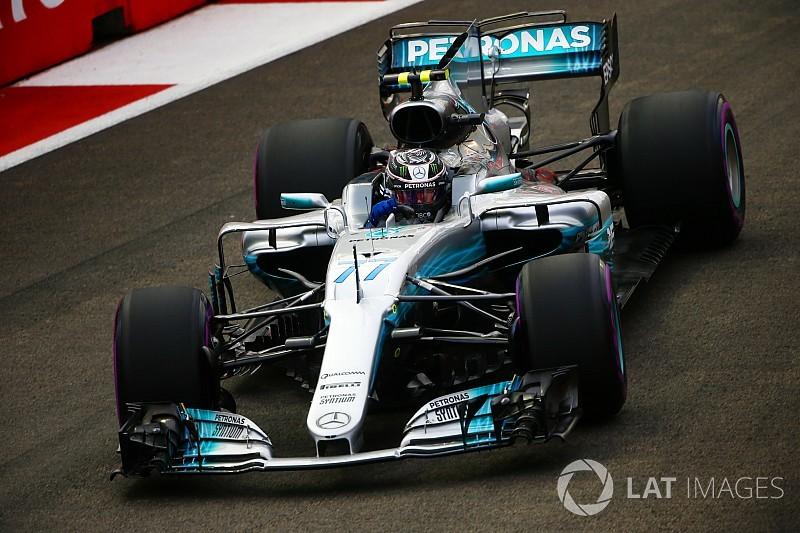 """Bottas : La Mercedes est """"trop lente pour le podium"""""""