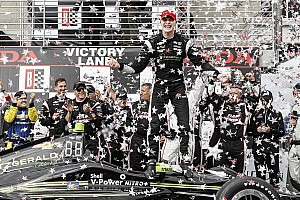 IndyCar Отчет о гонке Ньюгарден одержал победу в Алабаме, Алешин 10-й