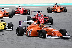 Formula 4 SEA Press release F4 SEA Three wide Into the Chequered Flag