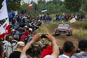 WRC Noticias de última hora El incidente con el camión de bomberos, la gota que colma el vaso del Rally de Polonia