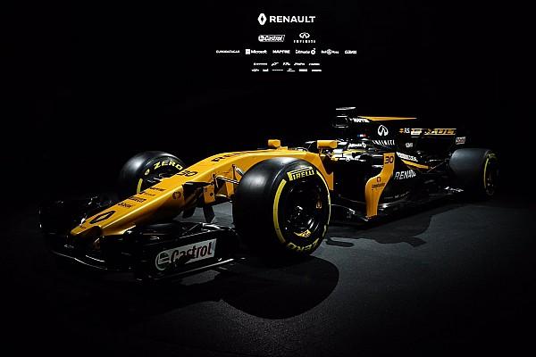 Fórmula 1 Últimas notícias Com mais preto, Renault revela pintura para 2017