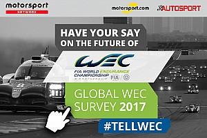 WEC News WEC-Umfrage 2017: Globaler Fan-Survey ausgewertet