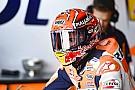 MotoGP Sur le mouillé, l'essentiel était de prendre ses repères pour Márquez