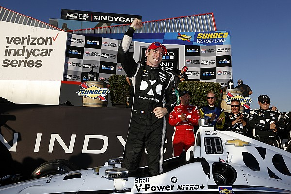 Pagenaud says winning Sonoma strategy planned by text